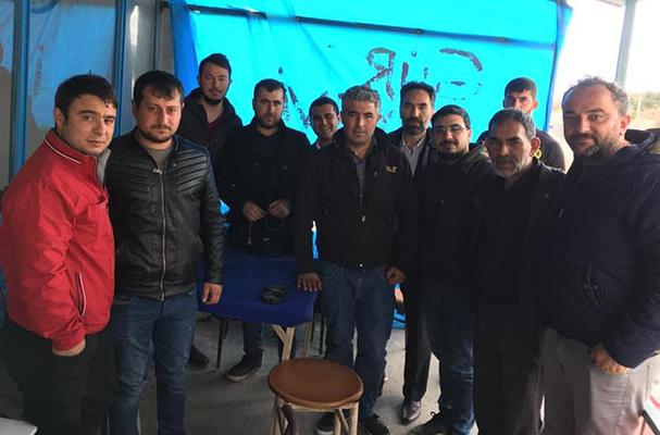 Başkan ARAZAY'dan Özbağ Esnafına Teşekkür Ziyareti