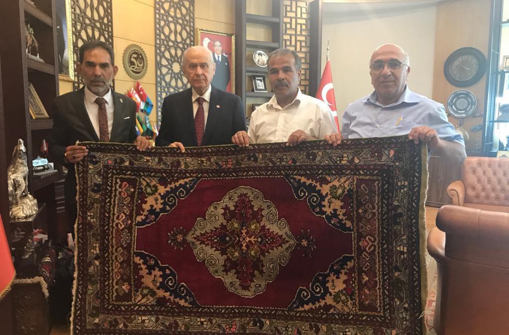 Başkan Rasim ARAZAY'dan Devlet BAHÇELİ'ye Ziyaret