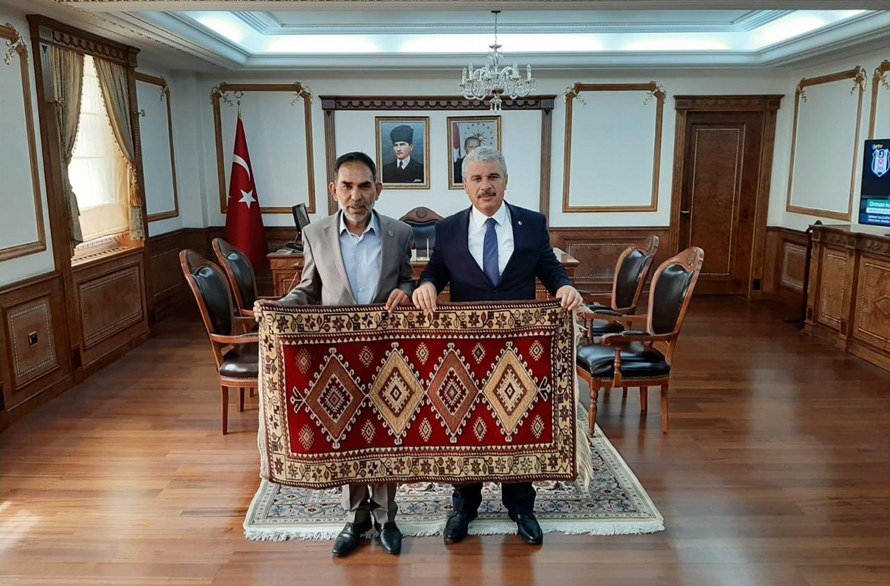 Belediye Başkanımız Rasim ARAZAY Vali İbrahim AKIN'ı Ziyaret Etti